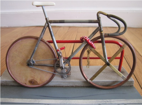 tiny track bike