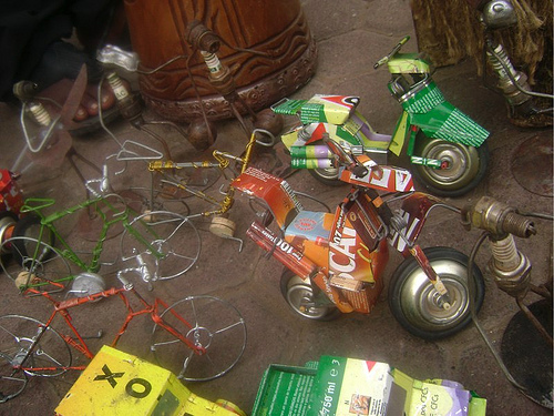 Toys From Africa : Boston biker archive awesome little bicycle toys