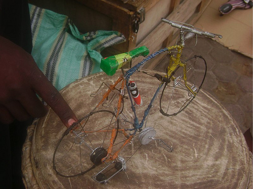 Toys From Africa : Boston biker » blog archive » awesome little bicycle toys from africa