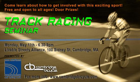 track racing seminar