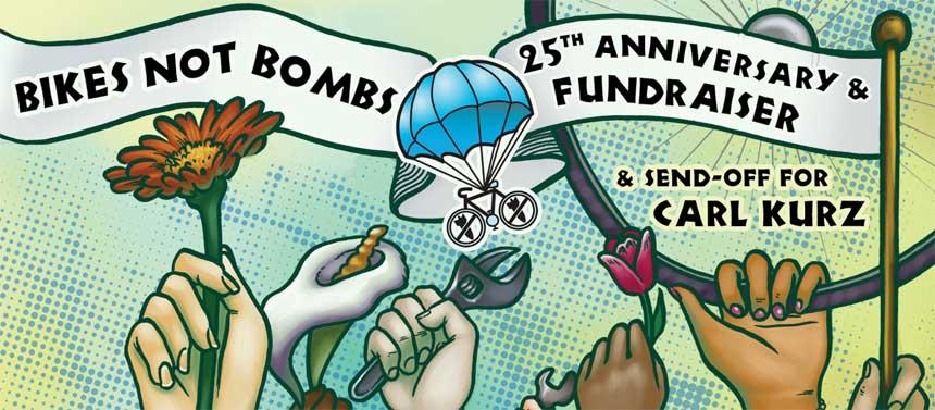 Carl Kurz Bikes Not Bombs. Inc Carl Kurz as he departs
