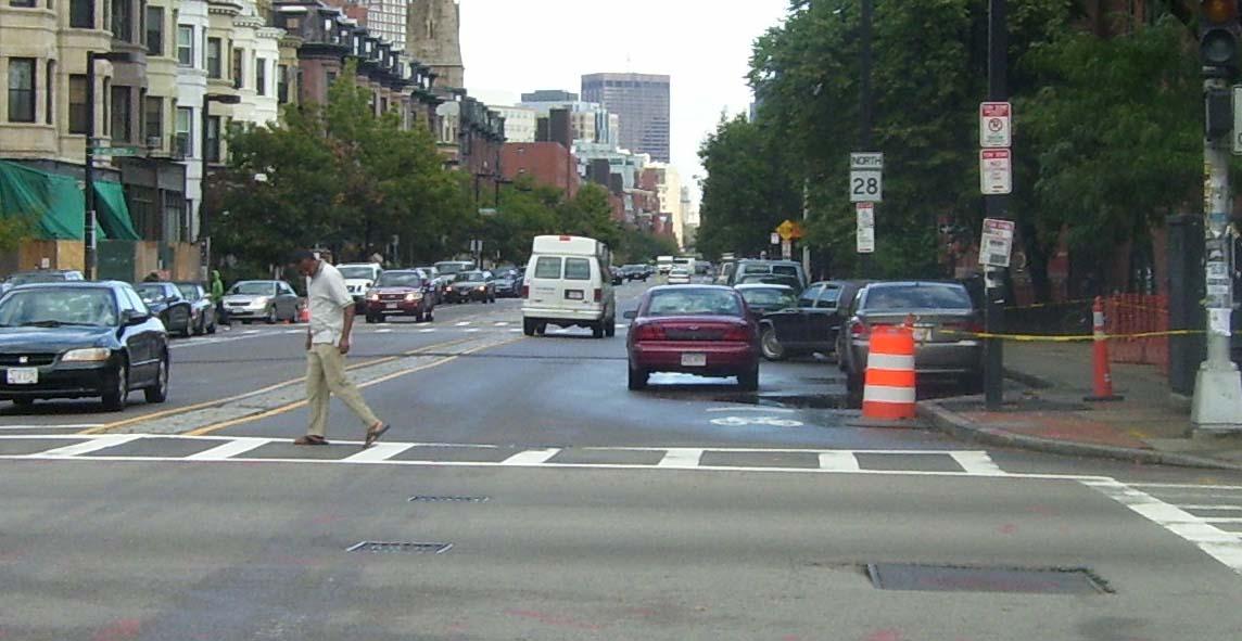 Boston Biker » Blog Archive » How To Use A Door Zone Bike Lane Part ...