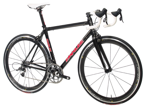 Parlee Z4 carbon fiber road bike with SRAM Force,