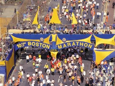 Boston Marathon on Family Vacations Boston Marathon