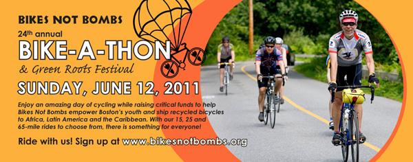 Bikes Not Bombs Bike A Thon Event Description