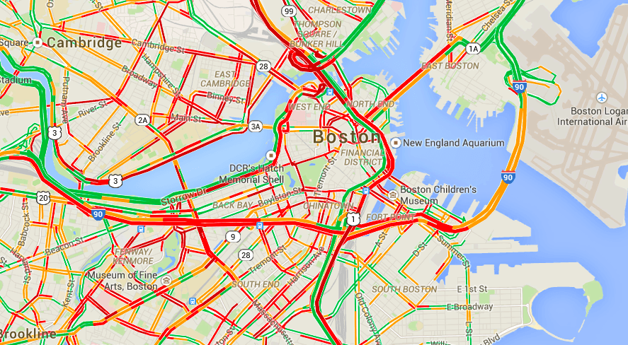 Boston Biker » Blog Archive » Surprise Gridlock!
